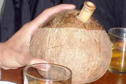 Cách làm rượu dừa
