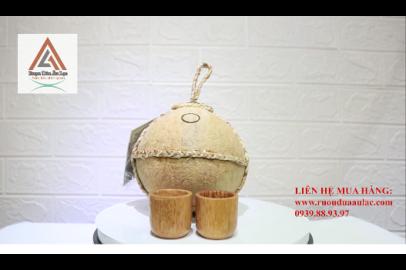 Video rượu dừa Bến Tre trái thường dây lục bình